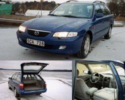 Provkörning av Mazda 626 2,0 Di-TD