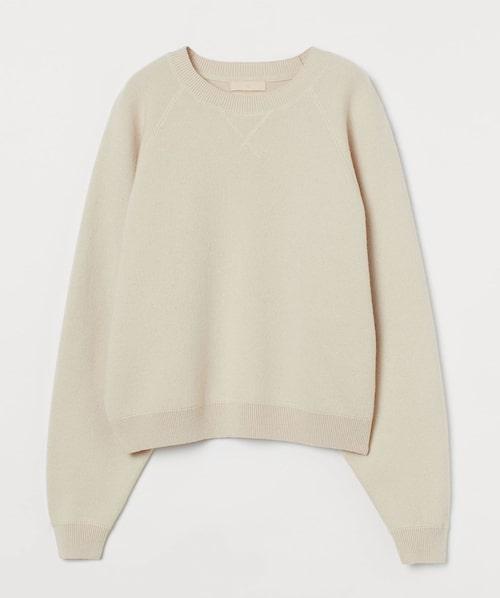 Beige tröja från H&M. Klicka på bilden och kom direkt till tröjan.