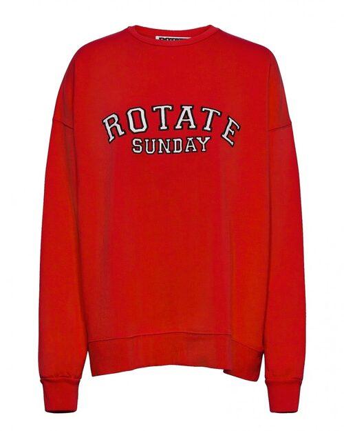 Röd tröja från Rotate. Klicka på bilden och kom direkt till tröjan.