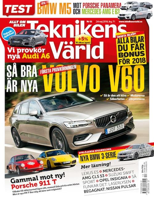 I detta nummer, som utkommer nästa vecka, bjuds du på allt om hur nya Volvo V60 upplevs.