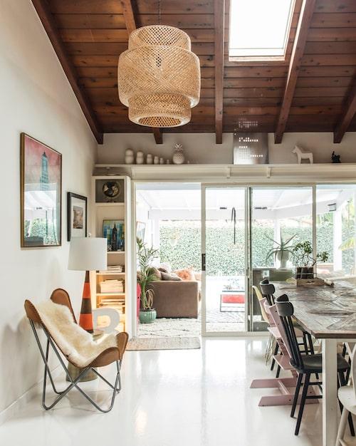 Familjen Blankens hem ligger i Valley Village, med närhet till allt det bästa LA har att erbjuda.