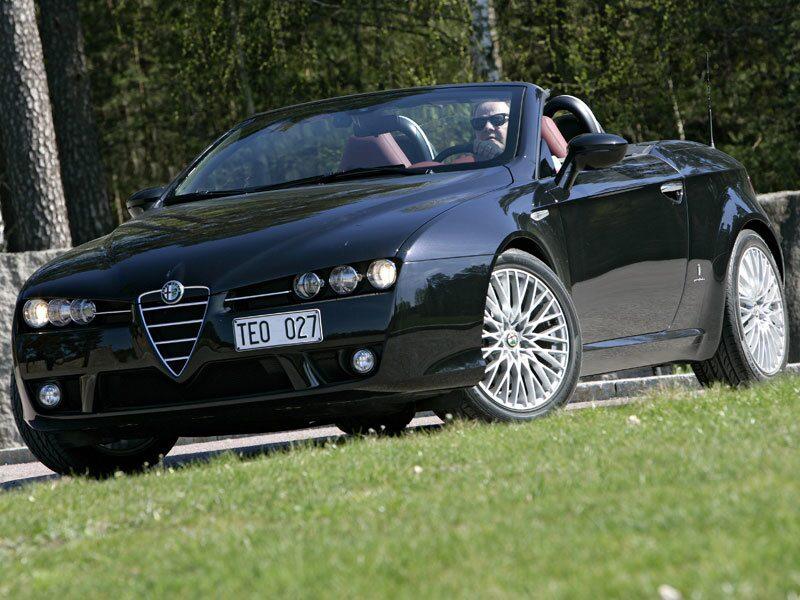 Alfa Romeo Spider är en snygg bil med ett härligt motorljud, men allt är inte guld och gröna skogar.