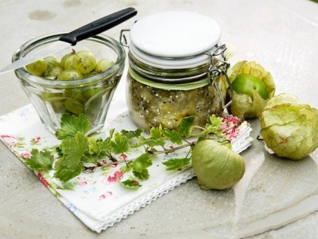 Krusbärsmarmelad med vanilj & citron