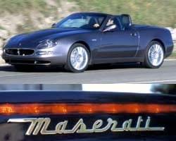 Provkörning av Maserati Spyder