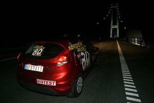 Stora Bält-bron.