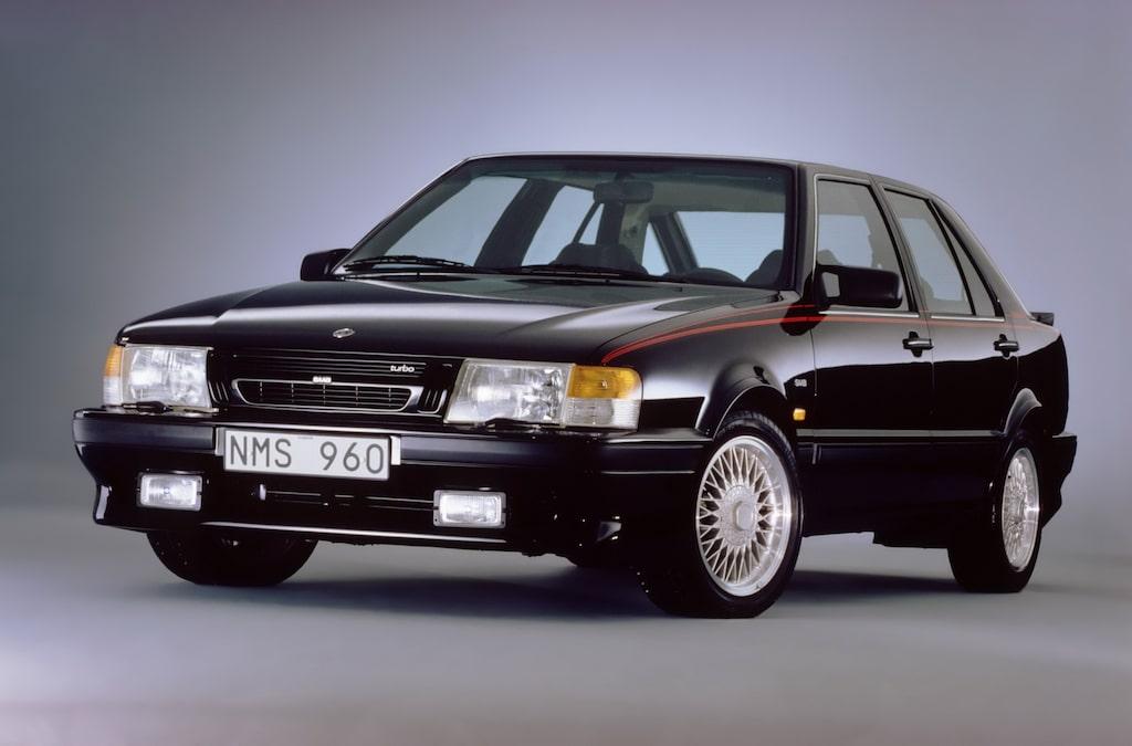 Saab 9000 Talladega årsmodell 1988.