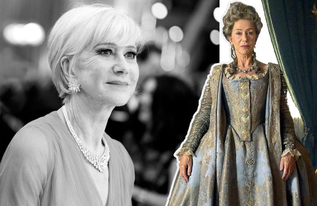 Helen Mirren har skaffat sig bra rutin på det här att spela just kungligheter. Den brittiska 1500-tals-drottningen Elisabet I spelade hon i tv-serien Elizabeth, och hon har porträtterat Storbritanniens nuvarande drottning, Elizabeth II, både i filmen The queen (som hon fick en Oscar för) och på scen.