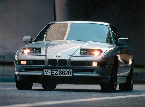 BMW 8-serie av första generationen.