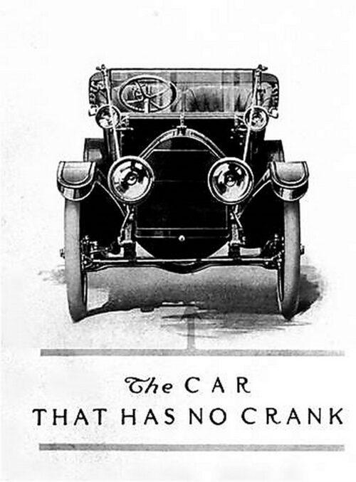 En Cadillac från 1911 – utan startvev.