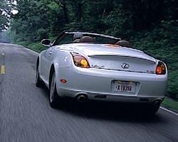 Provkörning av Lexus SC430