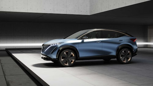 Nissan visade nyligen elektriska crossovern Ariya Concept på bilsalongen i Tokyo. Inget som lockar de unga köparna?