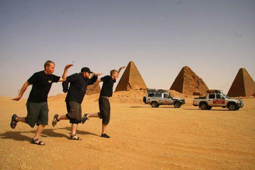 När andra åker till Egypten för att titta på pyramider åker vi till Sudan...