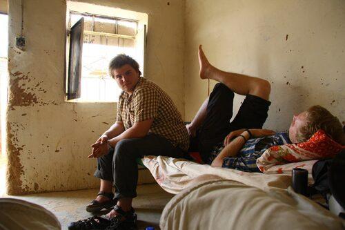 """""""Stans bästa hotell"""" Wadi Halfa, Sudan."""