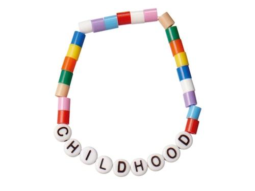 Pärlarmband från Childhood.