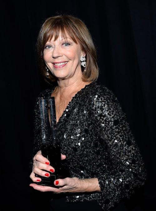 Lill Lindfors på Grammisgalan 2015.