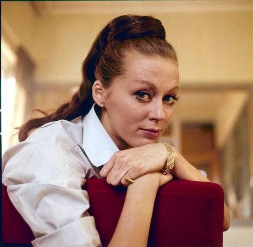 Lill Lindfors 1962.