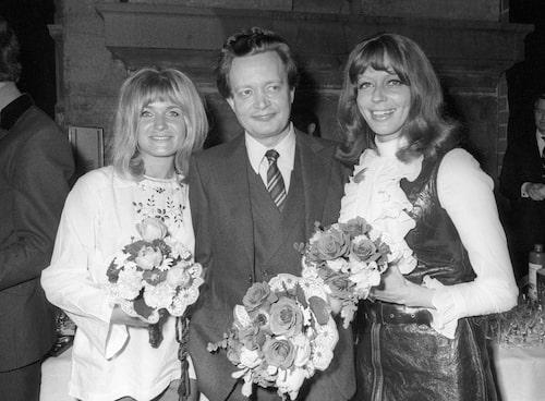 Lill Lindfors med Anita Wall och Ernst-Hugo Järegård 1970.