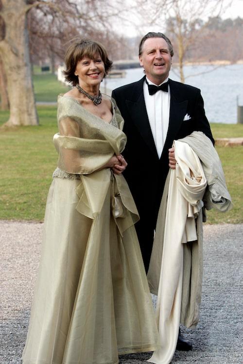 Lill Lindfors och maken Anders Byström 2006.