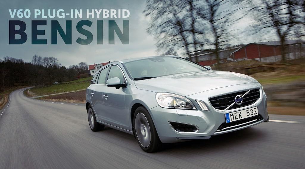 Volvo V60 Plug-in Hybrid blir laddhybrid med bensinmotor