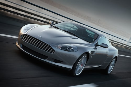 Favorit nummer ett: Aston Martin DB9