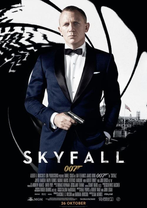 """""""Skyfall"""" har premiär 26/10!"""