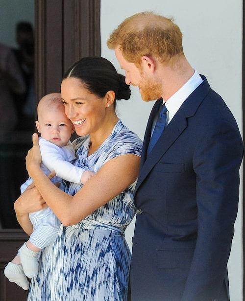 Sonen Archie Harrison Mountbatten-Windsor föds den 6 maj