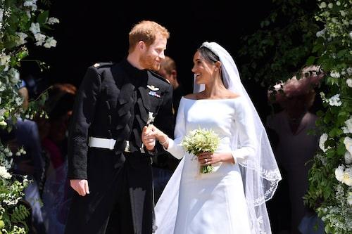 Vigsel den 19 maj i St Georges kapell på Windsor Castle.