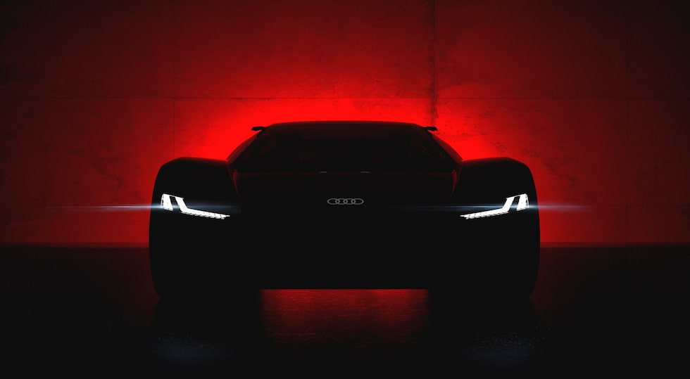 Will be unveiled in Pebble Beach on August 23, 2018 – the Audi PB 18 e-tron show car.