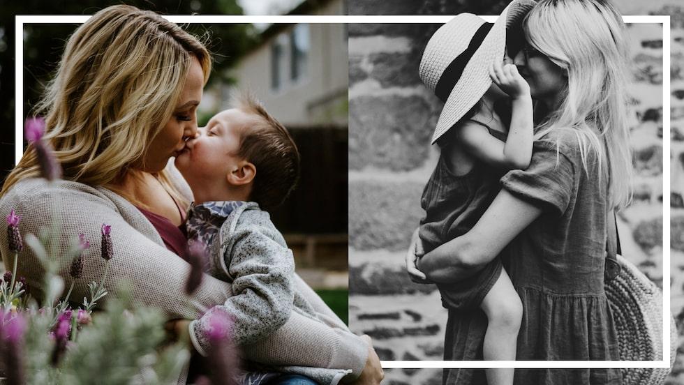 Vad önskar sig en trött mamma mest av allt? Lugn och ro, så klart!