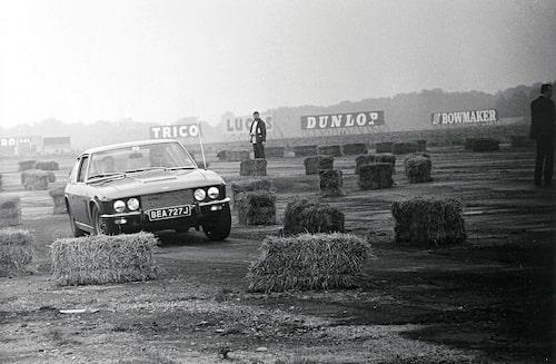 Jensen Interceptor under presskörning 1966.