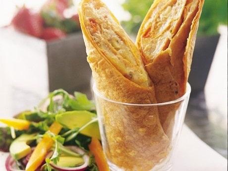 Thai tonfiskwrap med sallad