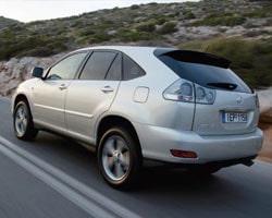Provkörning av Lexus RX 400h