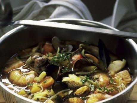 Italienska fiskarhustruns soppa