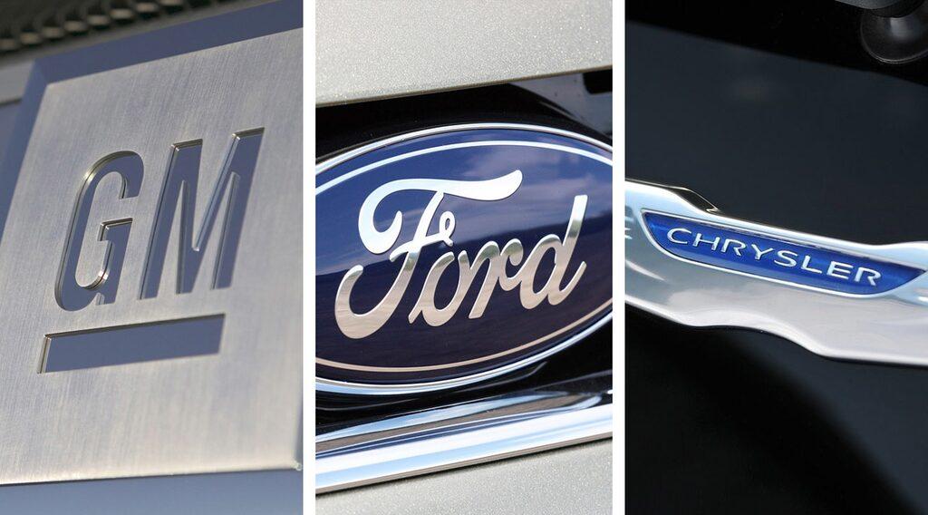 GM, Ford och Chrysler