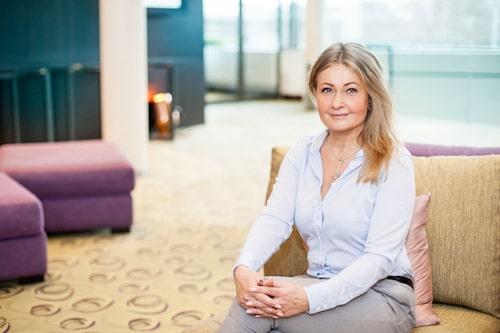 Psykologen Camilla Rudeberg.