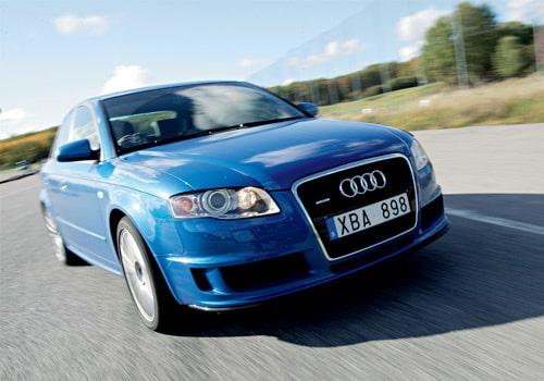 Provkörning av Audi A4 DTM Edition