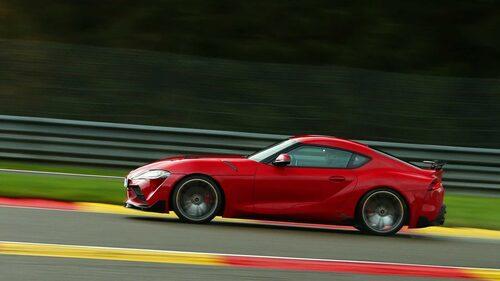 Toyota Supra är rask, men hur mycket raskare den är när AC Schnitzer har fått göra sitt, det får vi inte reda på.