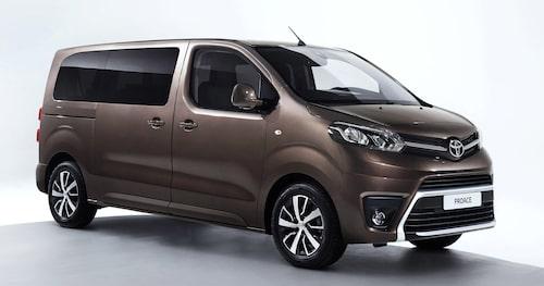 Toyota Proace Verso debuterar nere i Genève.