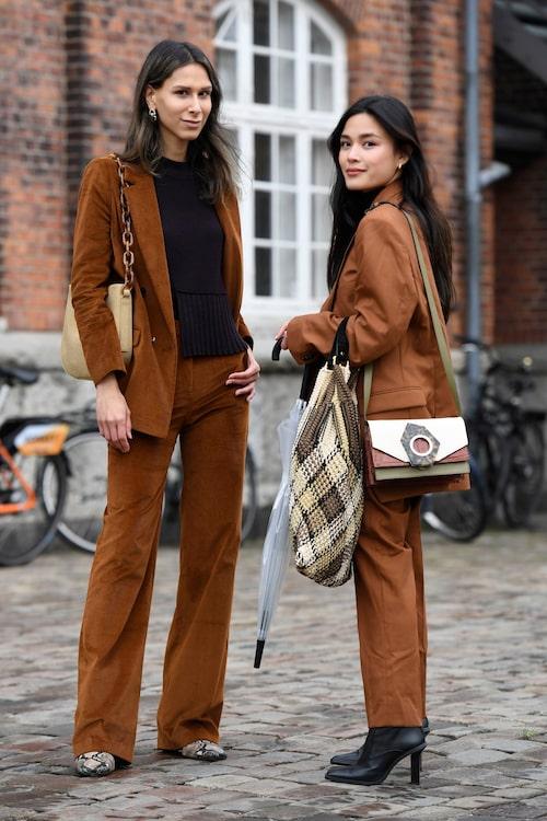 Varför inte bära brunt från topp till tå?