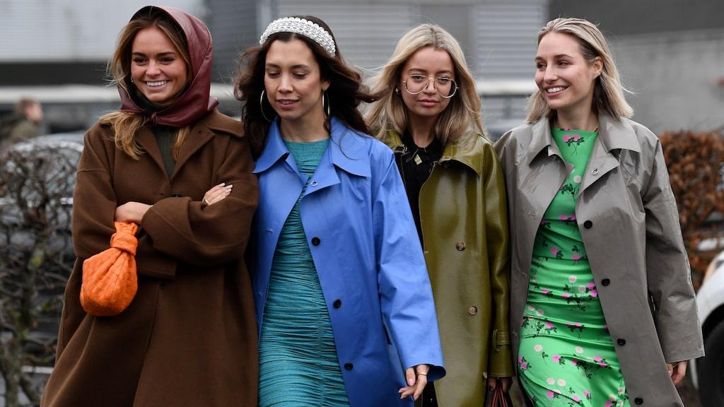 Inspireras av all street style på Copenhagen Fashion Week AW20.