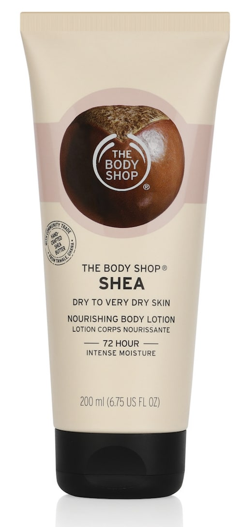 Bodylotion från The Body shop.