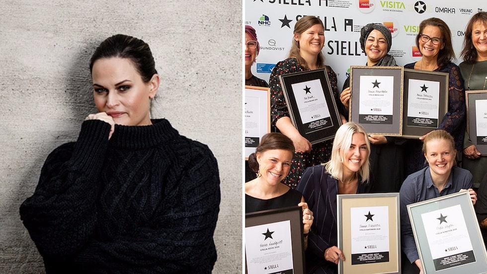 Bild 1: Isabella Morrone är en av de nominerade i årets Stellagala.  Bild 2: Vinnarna från Stellagalan 2020.