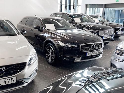 Volvo har faktiskt inte särskilt vassa privatleasingerbjudanden. De litar på företagsmarknaden.