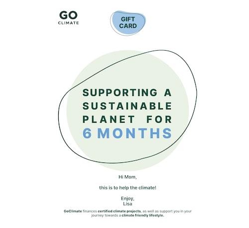 Julklappstips 2020: gåvokort för miljön.