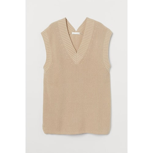 Trendig slipover i bomull från H&M