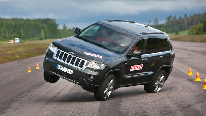 The summer of 2012 this was what happened to Jeep Grand Cherokee, in a similar speed as the new RAV4.