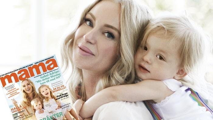"""""""Folk vågar knappt prata om IVF i Sverige"""", berättar Isabel Adrian för mama."""