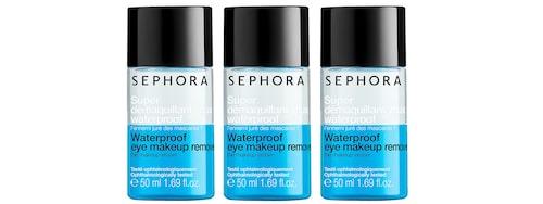 Eye makeup remover från Sephora.