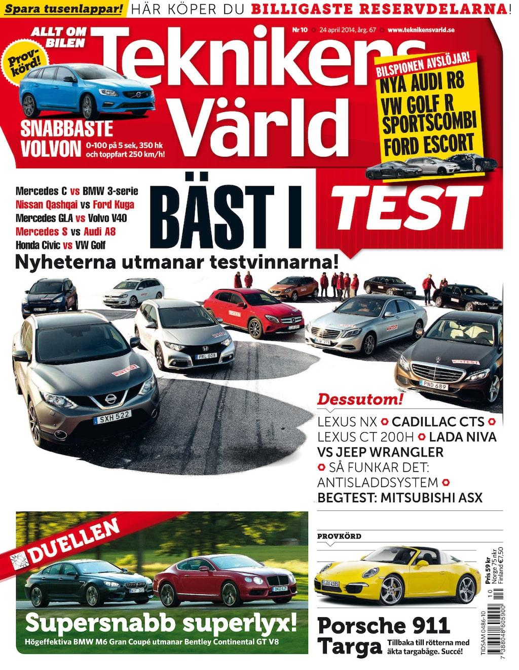 Teknikens Värld nummer 10 / 2014