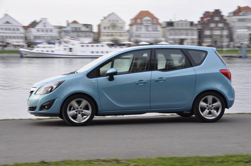 Provkörning av Opel Meriva